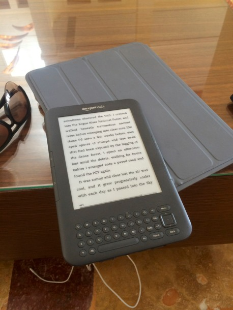 Kindle wins!