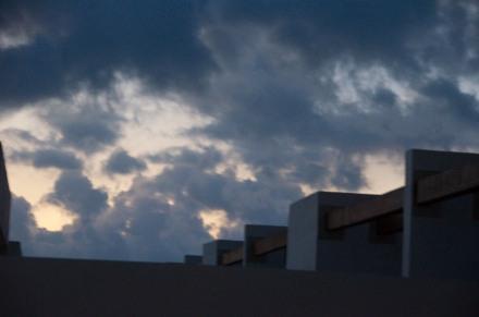 Late night skinny dipping sky