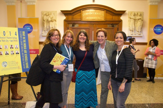 HVWP Global in NYC at TC With Trace, Denise, Kristen & Christine