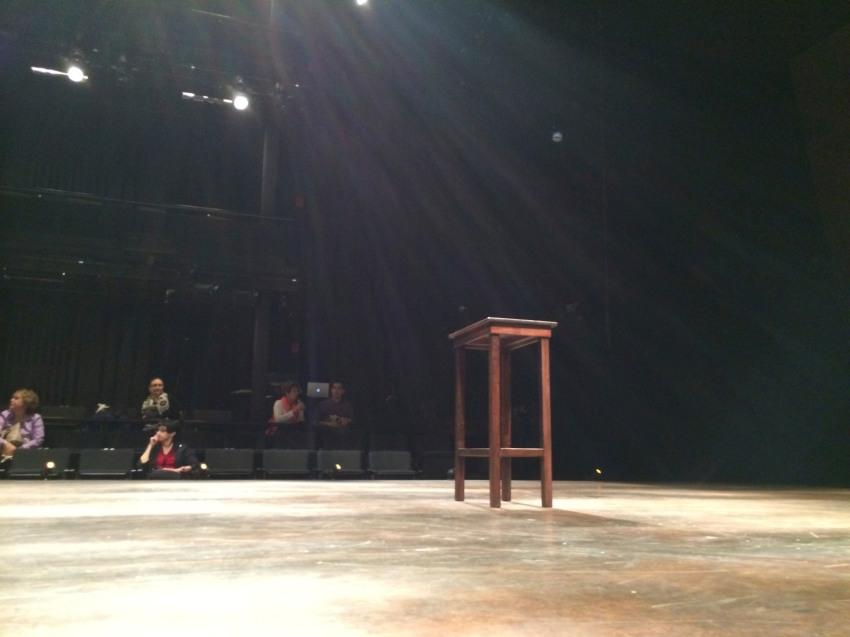 Nice Bare Stage