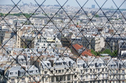 Views in a cage at the Tower