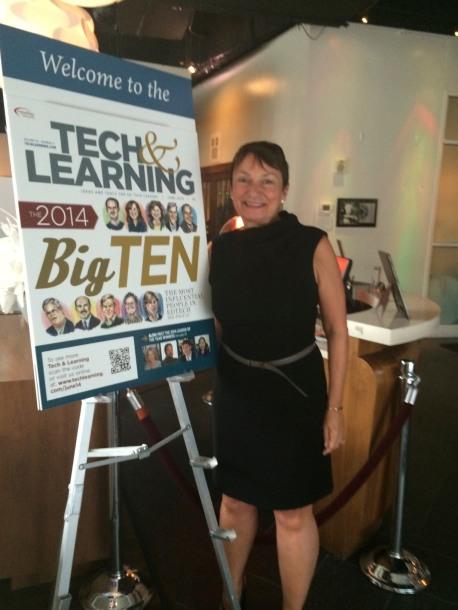 Receiving a Big Tech Award