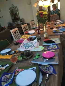 Seder #2 Kaplans in Eville