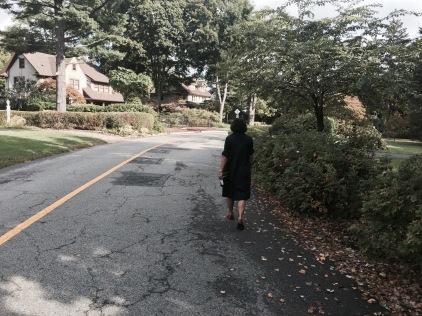 Walking neighborhoods with Tara